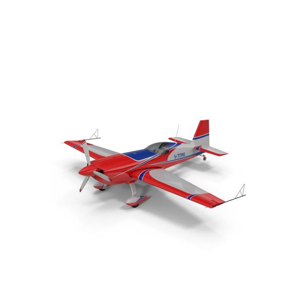 Aerobatic Monoplane Extra EA-300 Aircraft PNG & PSD Images