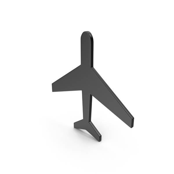 Airplane: Aeroplane Black Icon PNG & PSD Images
