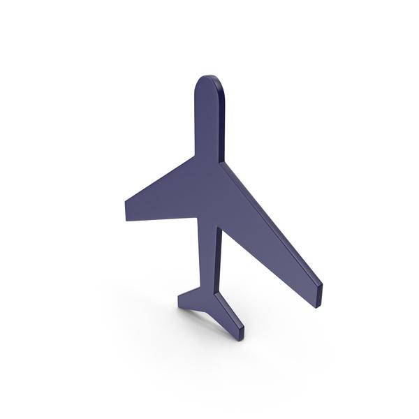 Airplane: Aeroplane Dark Blue Icon PNG & PSD Images
