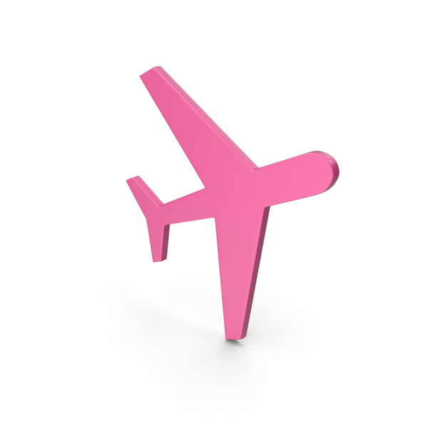 Airplane: Aeroplane Pink Icon PNG & PSD Images