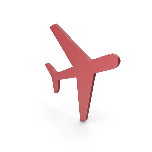 Airplane: Aeroplane Red Icon PNG & PSD Images