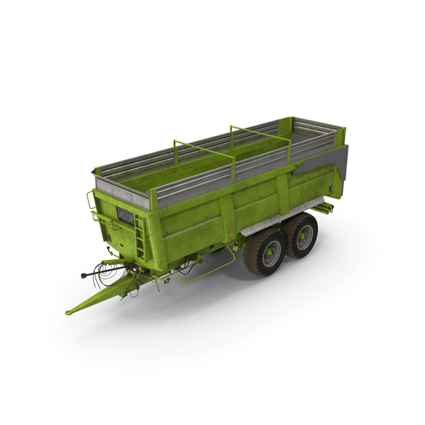 Agricultural Body Trailer Dirty PNG & PSD Images