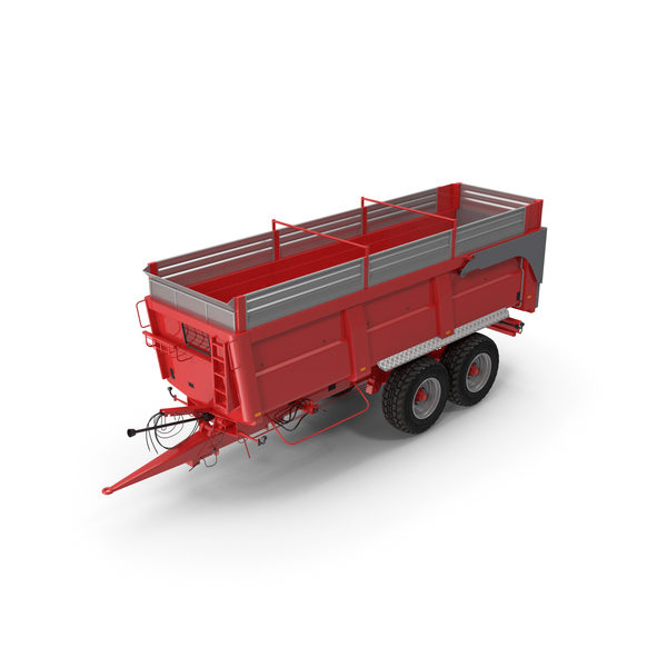Agricultural Tipper Trailer Clean PNG & PSD Images
