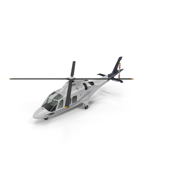 Civilian Utility Helicopter: Agusta AW109S Grand Blue PNG & PSD Images