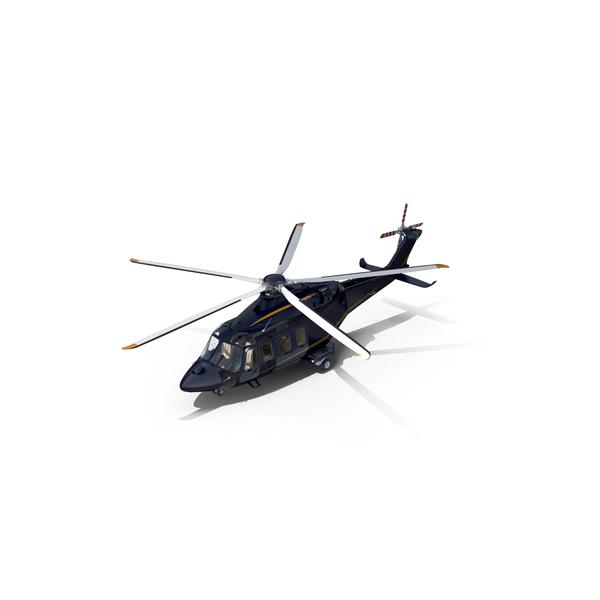 AgustaWestland AW139 Dark Blue PNG & PSD Images