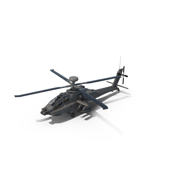 Attack Helicopter: AH-64D Apache Longbow Object