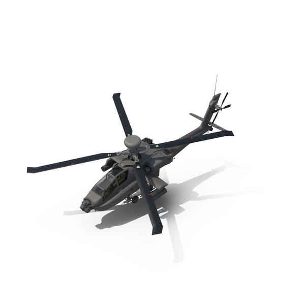 Attack Helicopter: AH-64D Apache Longbow PNG & PSD Images