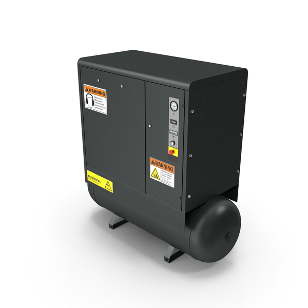Air Compressor Black PNG & PSD Images