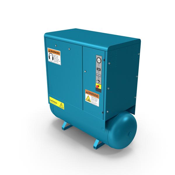 Air Compressor Blue PNG & PSD Images