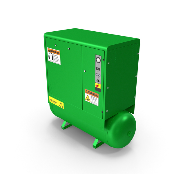 Air Compressor Green PNG & PSD Images