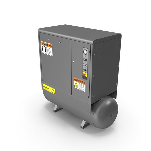 Air Compressor Grey PNG & PSD Images