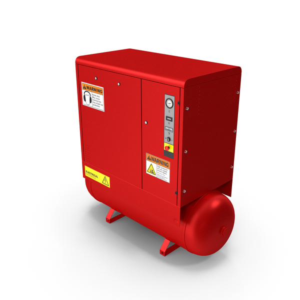 Air Compressor Red PNG & PSD Images