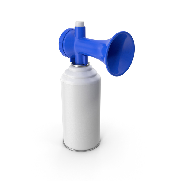 Air Horn Blue PNG & PSD Images