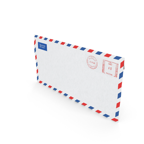 Air Mail Letter Object
