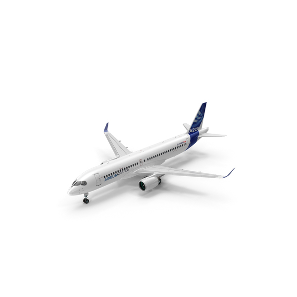 Airbus A220 PNG & PSD Images