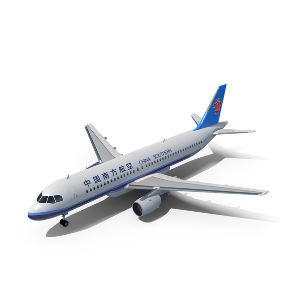 Airbus A320 China Southern Airlines PNG & PSD Images