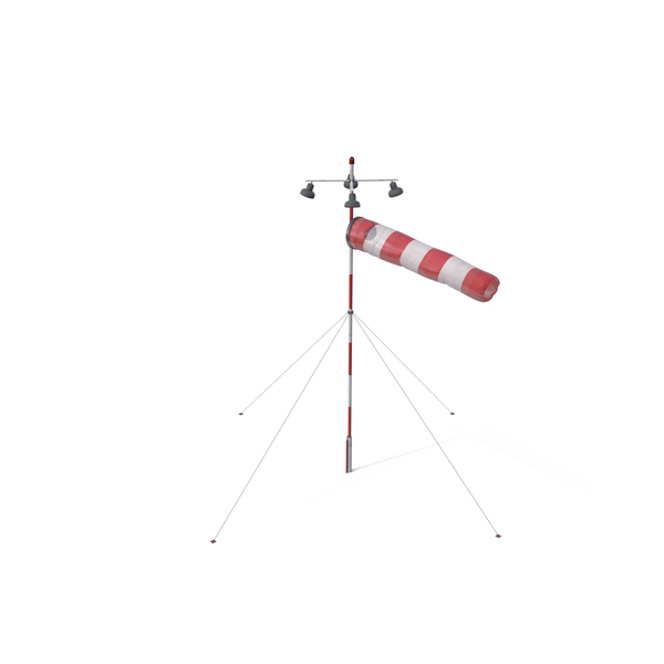 Airfield Windsock PNG & PSD Images