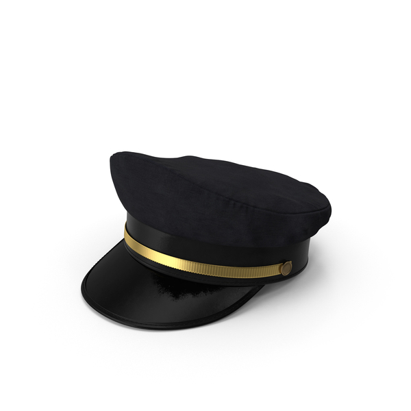 Pilot Hat: Airline Captains Cap PNG & PSD Images