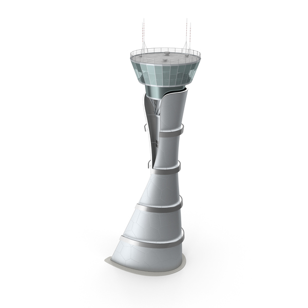 Airport Air Traffic Control Tower PNG & PSD Images