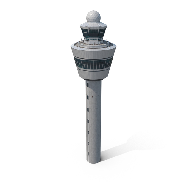 Airport Control Tower Amsterdam PNG & PSD Images