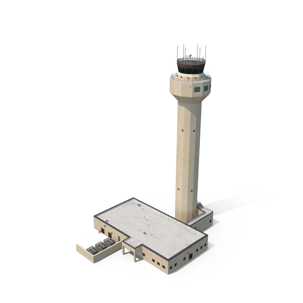 Airport Control Tower Object