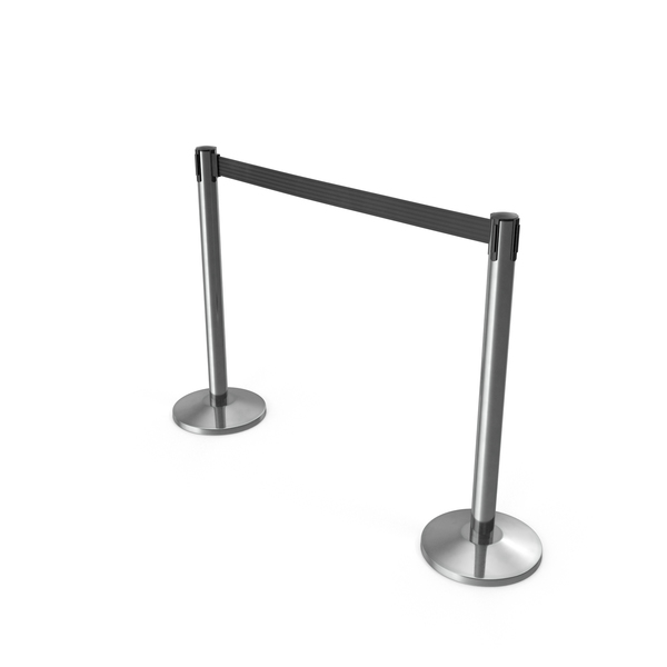 Velvet Rope: Airport Stanchions PNG & PSD Images