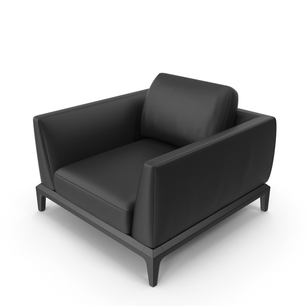 Arm: Akita Leather Office Chair PNG & PSD Images