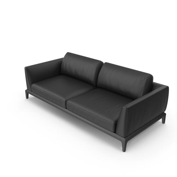 Akita Leather Sofa PNG & PSD Images