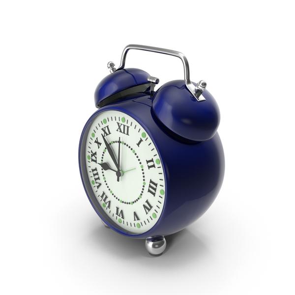 Industrial Equipment: Alarm Clock Blue PNG & PSD Images