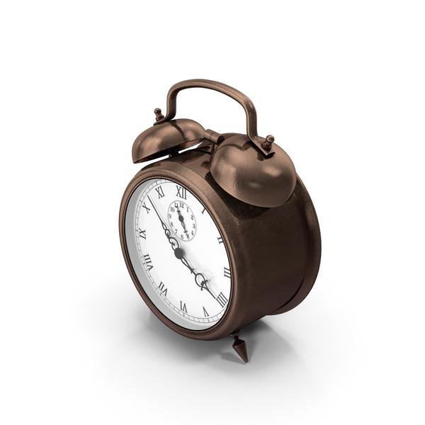 Alarm Clock Bronze PNG & PSD Images