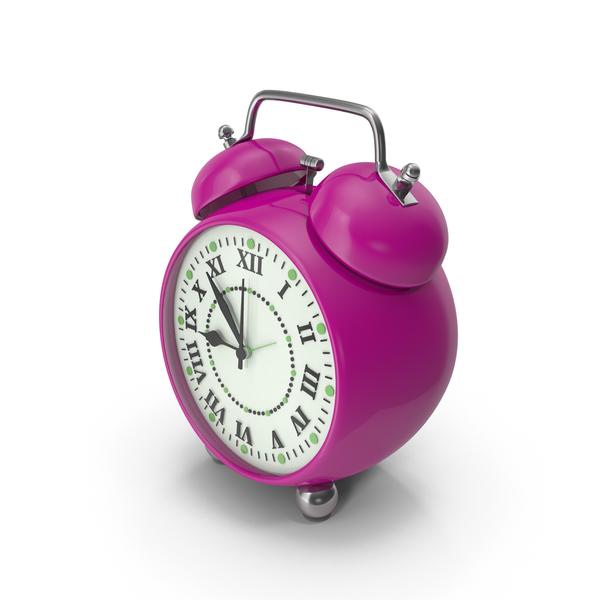 Alarm Clock Purple PNG & PSD Images