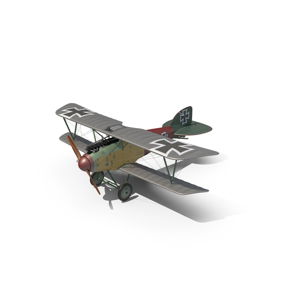 Fighter Plane: Albatros D.III Replica PNG & PSD Images
