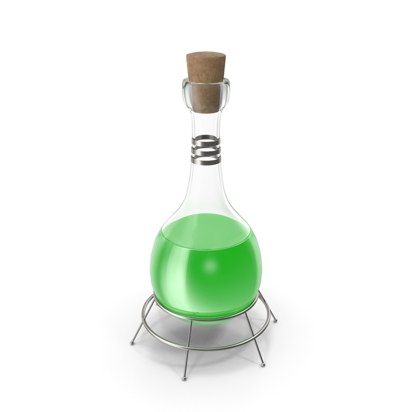 Alchemy Equipment: Alchemical Flask PNG & PSD Images