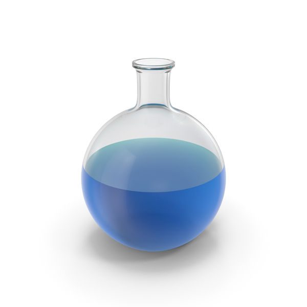 Alchemical Flask Big Blue PNG & PSD Images