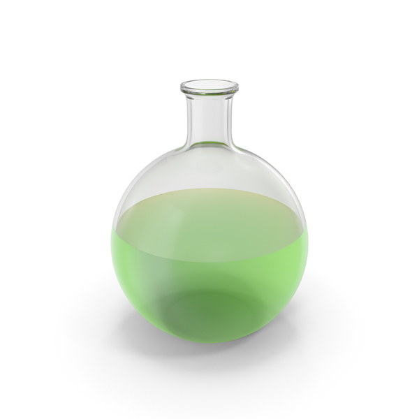 Alchemical Flask Big Green PNG & PSD Images