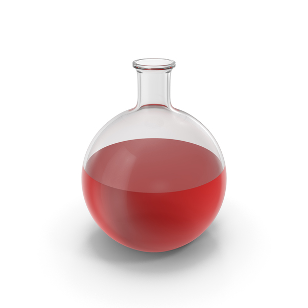 Alchemical Flask Big Red PNG & PSD Images