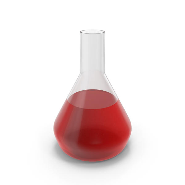 Alchemical Flask Medium Red PNG & PSD Images