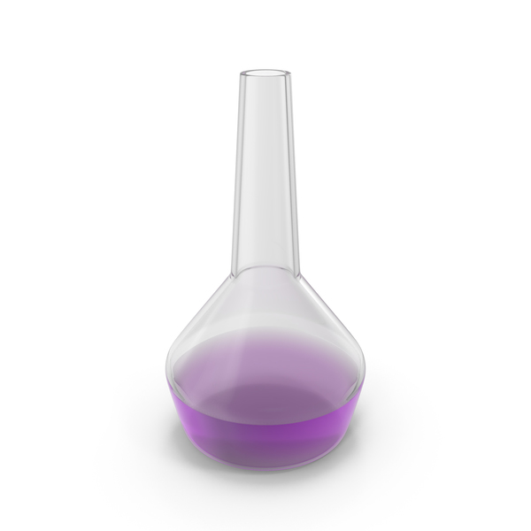 Alchemical Flask Small Violet PNG & PSD Images
