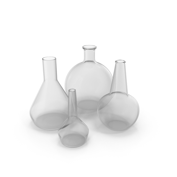 Alchemical Flasks PNG & PSD Images