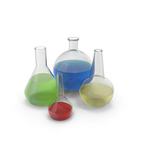 Alchemical Flasks PNG & PSD Images