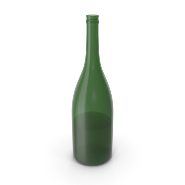 Alcohol Bottle Green PNG & PSD Images