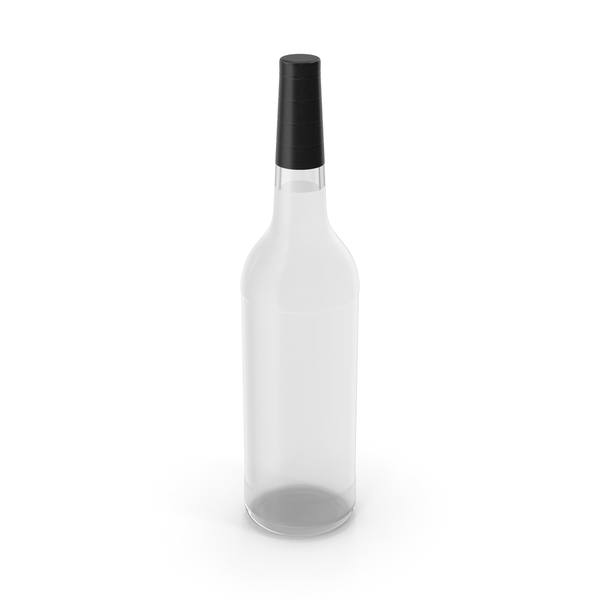 Alcohol Bottle No Label PNG & PSD Images