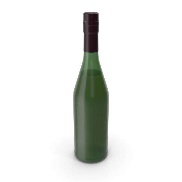 Alcohol Bottle No Label PNG & PSD Images
