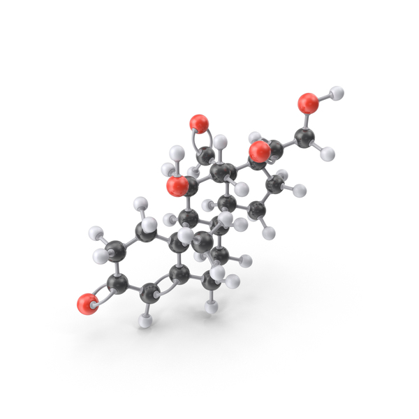 Aldosterone Molecule PNG & PSD Images