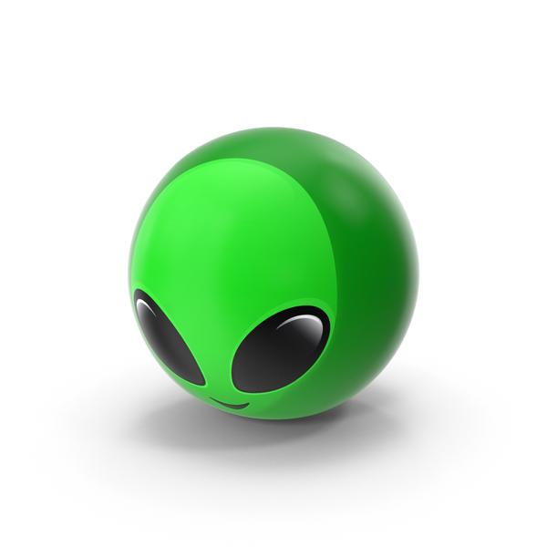 Alien Emoji PNG & PSD Images