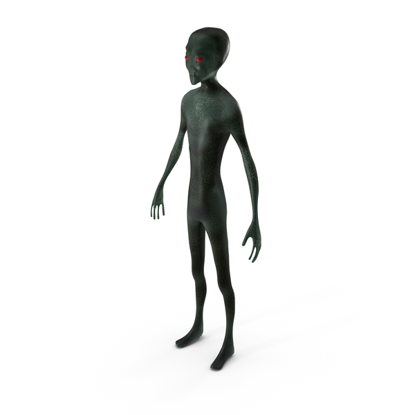 Alien Grey Type PNG & PSD Images