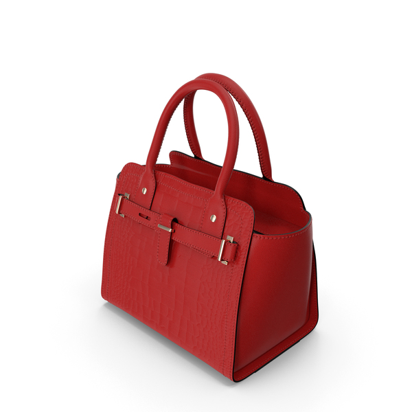 Alligator Women Handbag Red PNG & PSD Images