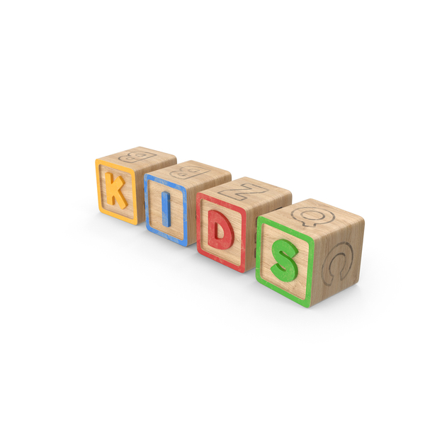 Alphabet Blocks Kids PNG & PSD Images