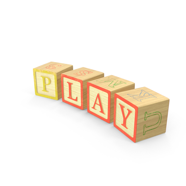 Alphabet Blocks Play Object