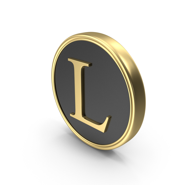 Industrial Equipment: Alphabet Time's Roman Coin L PNG & PSD Images
